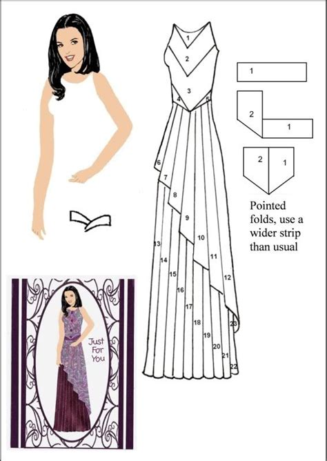 Folded Dress Card Template by 17 Best Images About Cards Iris And Tea Bag Folding On