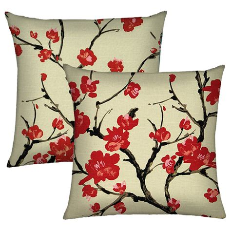 set of two pillow covers 18x18 decorative throw pillow covers
