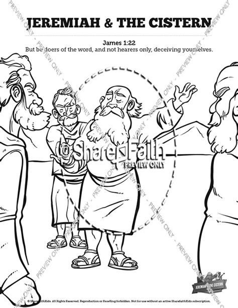 free bible coloring pages jeremiah the prophet jeremiah sunday school coloring pages sunday