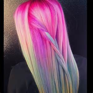colorful hair styles unicorn hair color trend colorful hair color trends