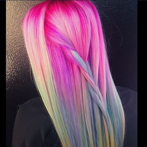 with colorful hair unicorn hair color trend colorful hair color trends
