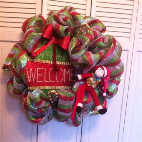 christmas wreath craft ideas pinterest