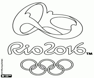 rio coloring pages games logo of olympic games rio 2016 coloring page printable game
