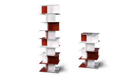 design libreria libreria design totem in metallo babel sololibrerie