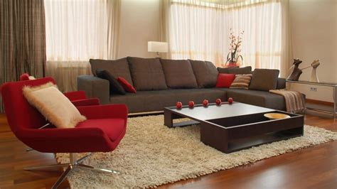 Living Room Occasional Chairs Design Ideas Modern Apartment Living Room Design With Armless Accent Chair With Steel Leg And Oak Coffe