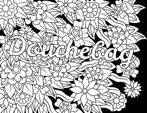 swear word coloring pages pdf 58 best swear words coloring pages images on pinterest