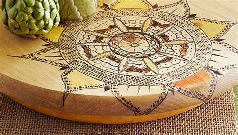 artistic brilliance  creative wooden etching concepts