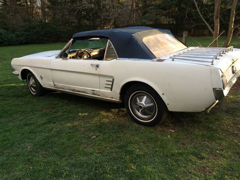 1965 mustang convertible project for sale 1966 ford mustang convertible project for sale