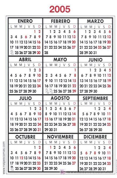 Calendario Ano 2005 Calendario Comas Archivo Damm A 241 O 2005 Comprar