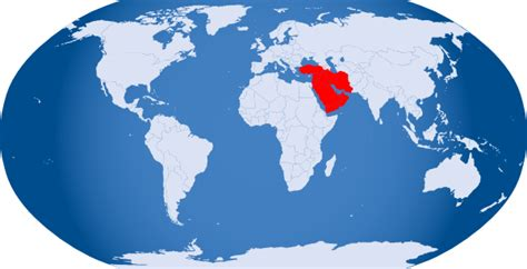 middle east globe map vector world globe highlighted middle east clip at clker
