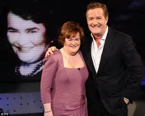 susan boyle marriage piers morgan susan boyle s house boasts framed pictures