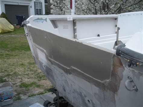pouring a transom solid the hull truth boating and - Layout Boat With Transom