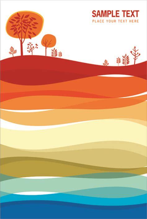 Leaflet Design Eps | set of leaflet design elements vector free vector in