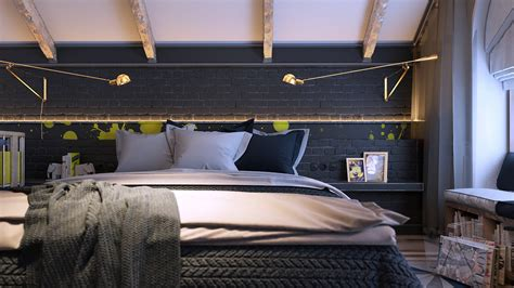 artistic bedroom ideas 6 creative bedrooms with artwork and diverse textures
