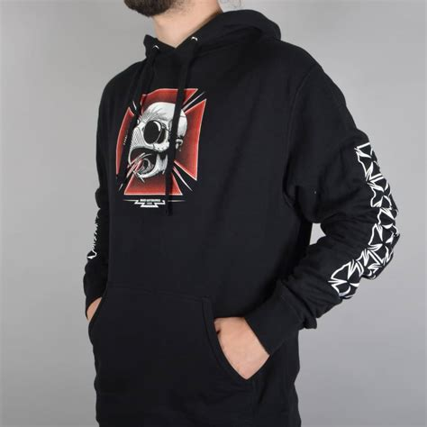 Hoodie Baker Skateboard baker skateboards tribute pullover hoodie black baker skateboards from skate store uk
