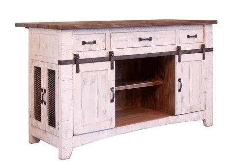 kitchen islands furniture international furniture direct pueblo ifd360island kitchen island with sliding doors dunk