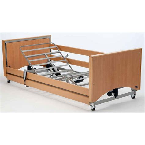ergonomic bed invacare etude medley ergo select low bed with rails