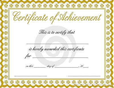 30 Acievement Certificate Templates Certificate Templates Certificate Of Achievement Template Word