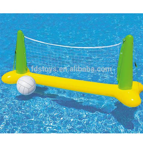 speelgoed zwembad swimming pool inflatable volleyball net game weighted