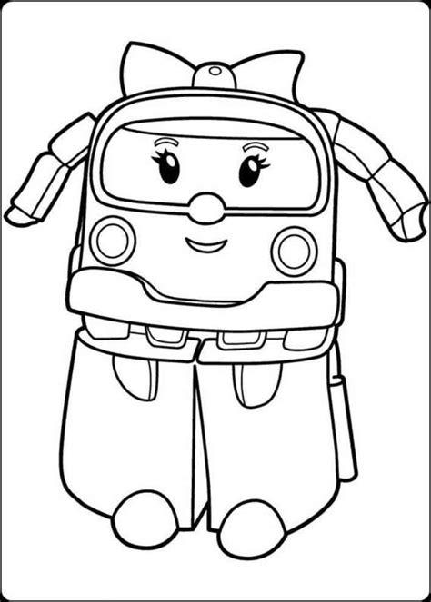 Download Gambar Mewarnai Robot