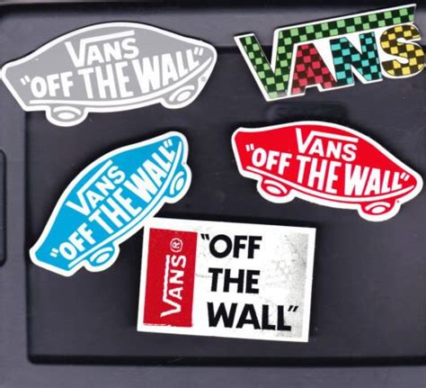 vans the wall sticker 138 best cool stickers images on cool stickers