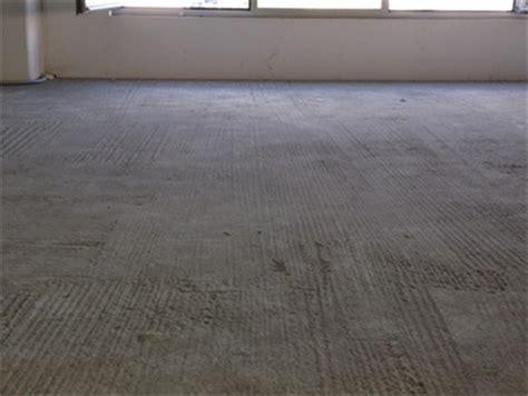 levigare pavimento come trasformare un massetto in calcestruzzo grezzo in un