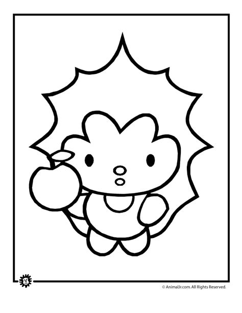 cute hedgehog coloring pages cute animals coloring pages cute animal coloring page