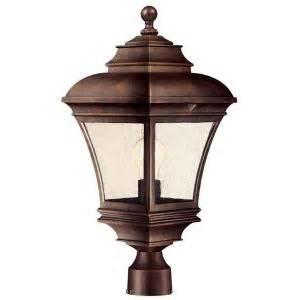 hton bay outdoor lighting parts hton bay exterior post lantern light the home depot