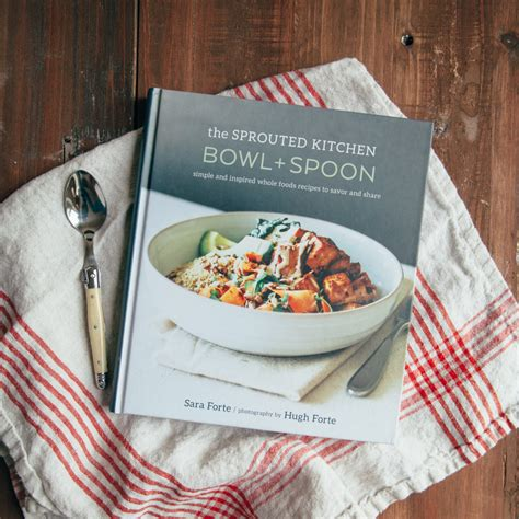 the sprouted kitchen bowl spoon relish decor