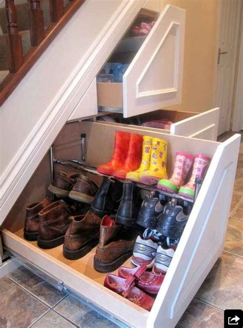 shoe storage stairs the stairs shoe storage organization