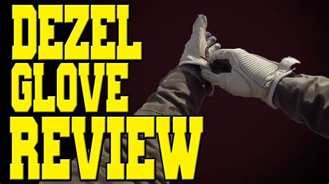 layout gloves review roland sands design dezel glove review youtube
