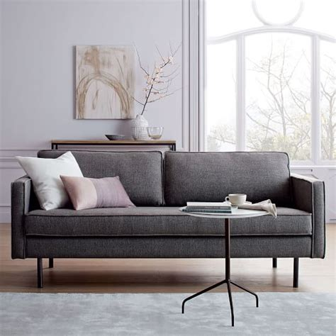 west elm axel sofa review axel sofa 76 quot west elm