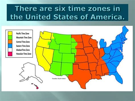 Map Of The United States Divided By Time Zones | map of the united states divided by time zones pictures to