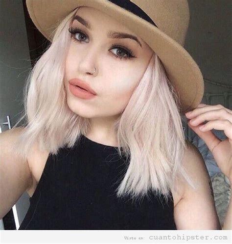 cabello de naranja a rubio ceniza pelo rubio ceniza para chicas hipsters un look con