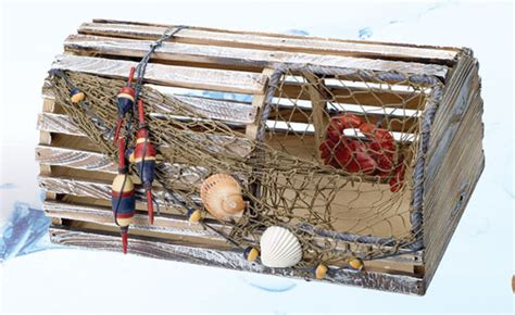 Decorative Lobster Trap by Robin S Dockside Shop Nautical Decor Page 3