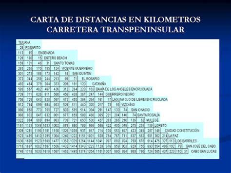 tabla de distancias mexico ejido revolucion 1910 pacifico norte b c sur tabla de