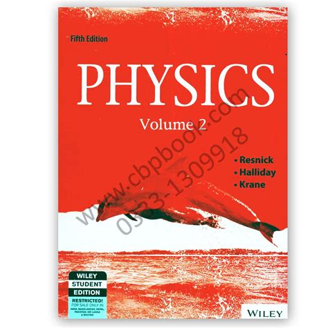 physics volume 2 books physics volume 1 2 fifth edition resnick halliday
