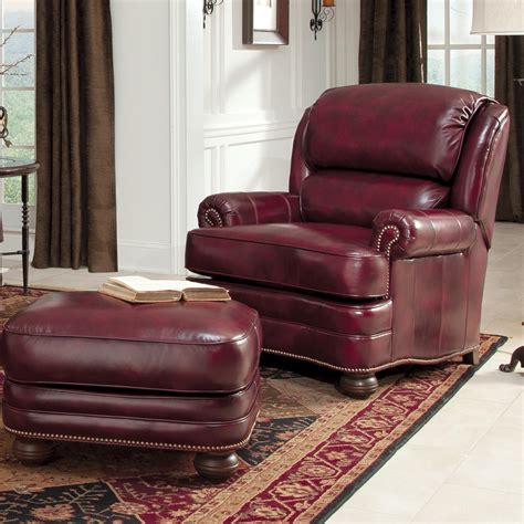 smith brothers chairs and ottoman smith brothers 311 leather upholstered chair and ottoman