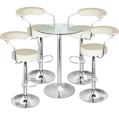 Bar Stool And Table Set Zenith Bar Stool And Vetro Table Set Drinkstuff