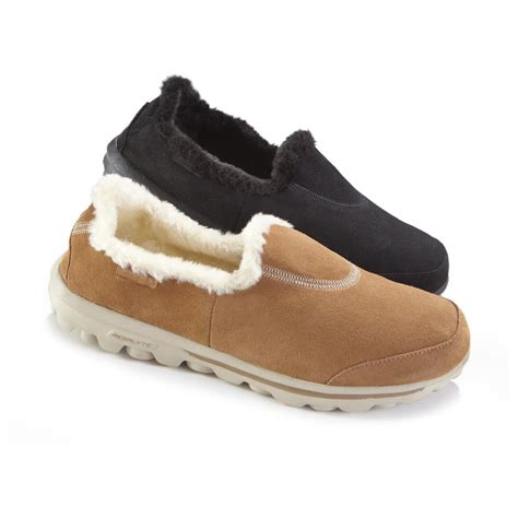 s skechers gowalk toasty slip on shoes 618207