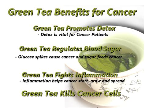 Green Tea Helps In The Fight Against Disease by Green Tea Benefits For Cancer Patients Green Health Matters