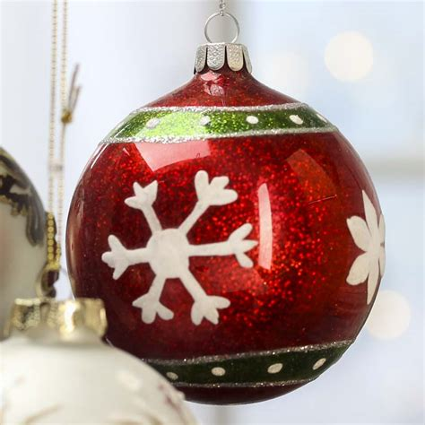 assorted glass ball christmas ornaments on sale
