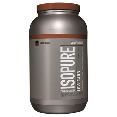 0 carb protein supplements nature s best iso isopure low carb protein powder