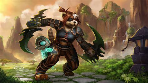 warcraft pandaren fan art pandaren monk hisui gaming pinterest