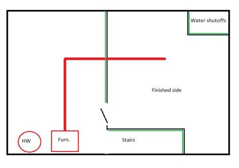 best way to improve heating of finished basement