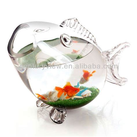 Fish Shaped Fish Bowl by Blown Glass Fish Shaped Bowl View Glass Fish Shaped