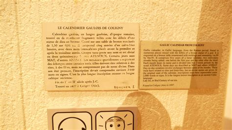 Calendrier Gaulois Religion Calendrier Quot Gaulois Quot De Coligny Lyon Maquetland