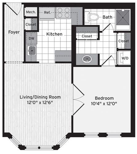 Floorplans   Vaughan Place at McLean Gardens Apartments