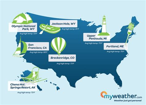 united states map of vacation spots coolest most overlooked vacation destinations for the summer