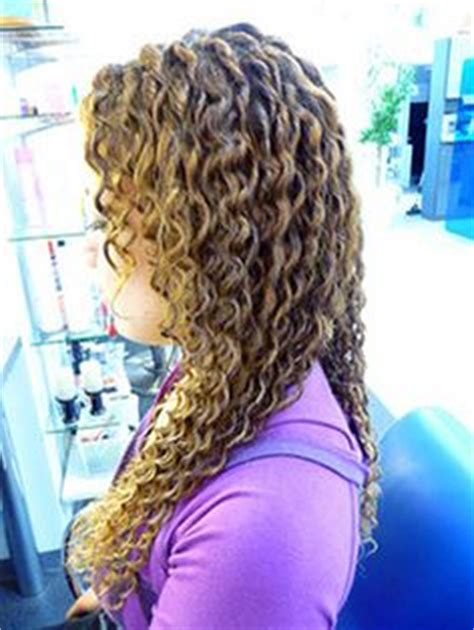 air perm acid super long spiral perm always wanted to do this long hair